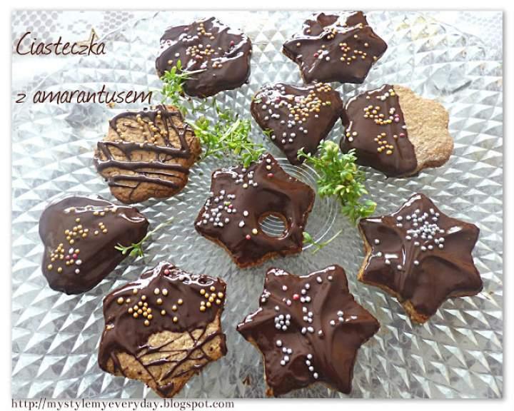 Zdrowe ciasteczka amarantusowe – Amaranth cookies