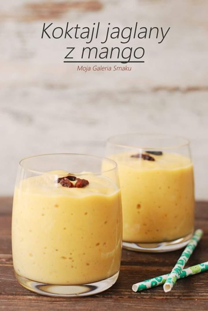 Koktajl jaglany z mango