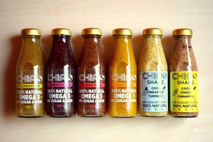 CHIAS – napoje z nasionami chia :)