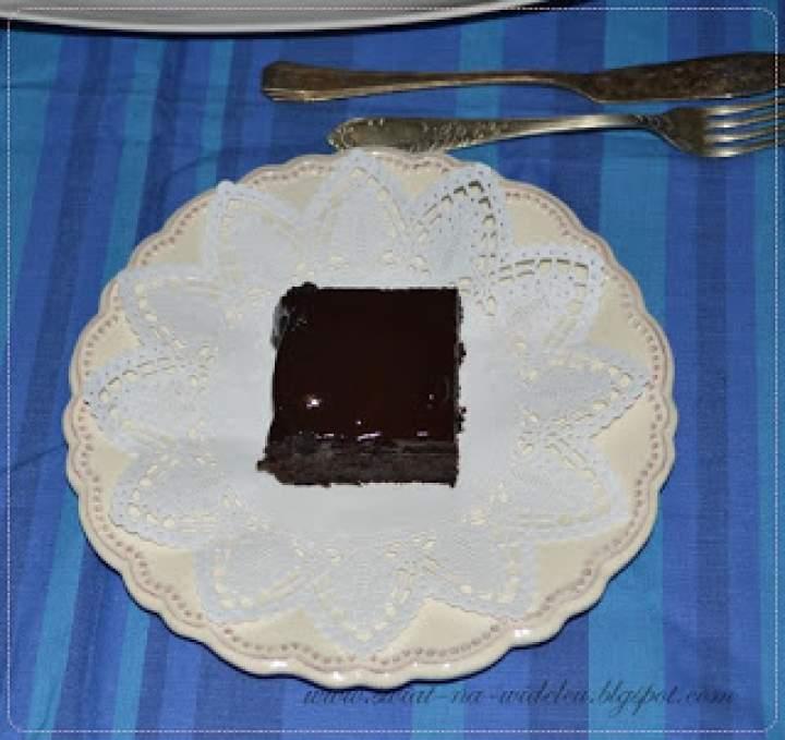 Potrójnie czekoladowe brownie z czarnej fasoli