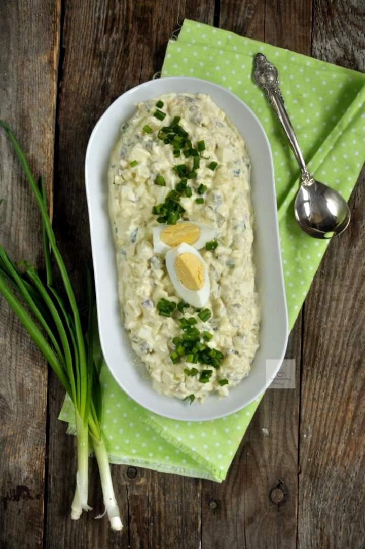 Sałatka ziemniaczna z jajkiem