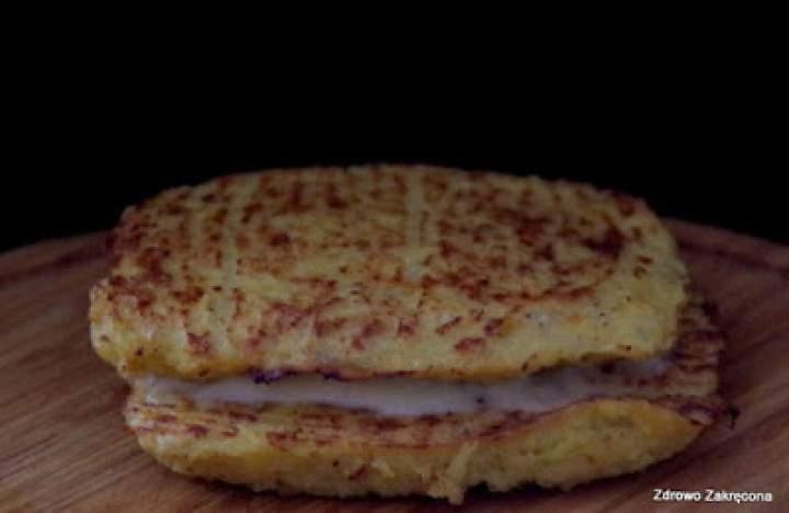 Pieczone kalafiorowe tosty z serem. Bezzbożowe!