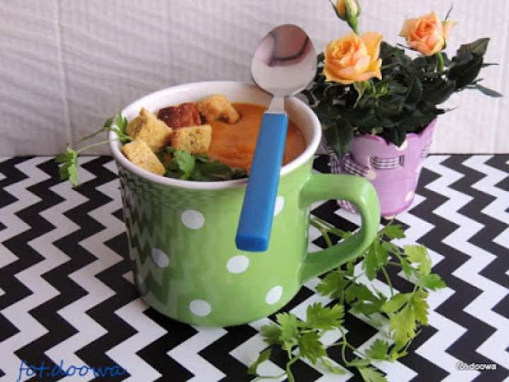Zupa ziemniaczano – dyniowa