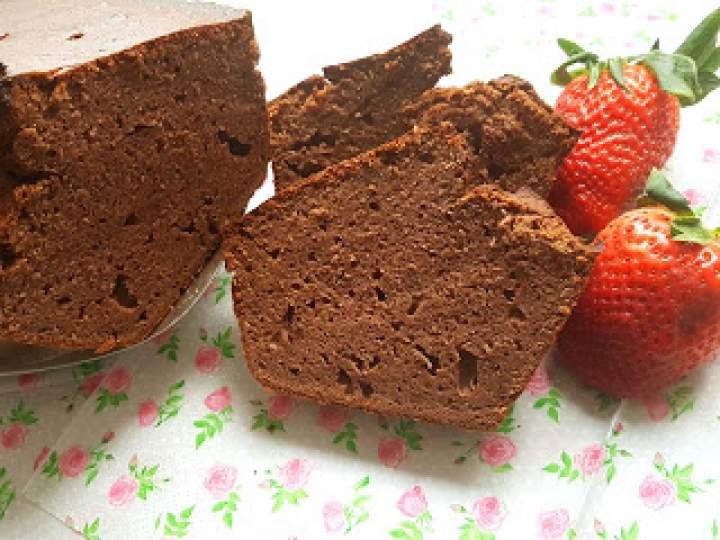 Czekoladowe ciasto z cukinią  FIT