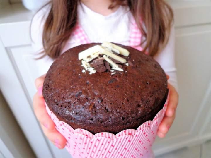 Światowy Dzień Muffina – Ciasto muffin mocno czekoladowe (Torta muffin al cioccolato)