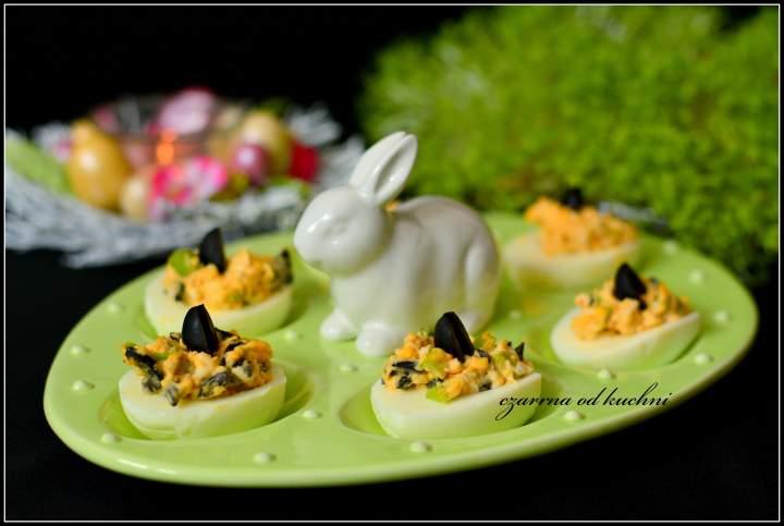 Jajka z oliwkami