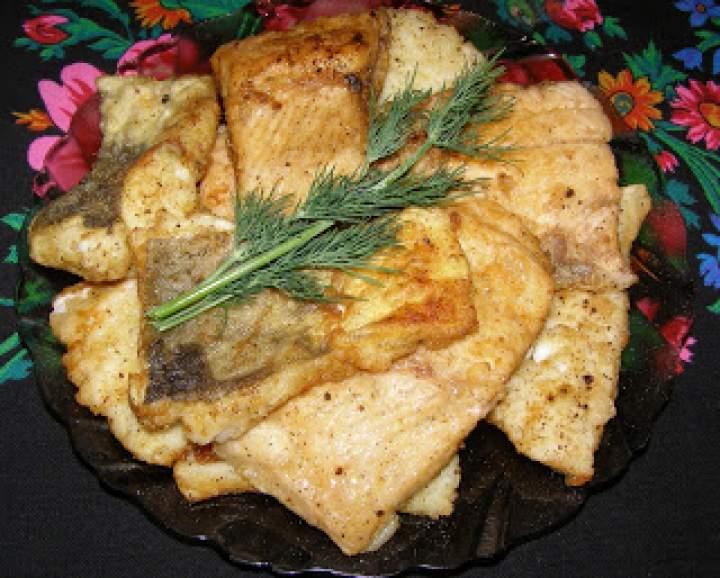 filety dorsza i pstrąga z patelni…