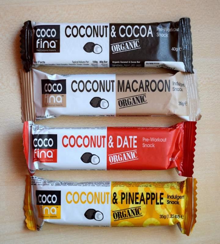 Kokosowe batoniki Cocofina :)