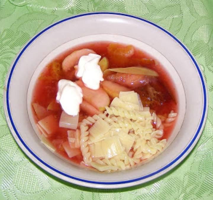 zupa owocowa…