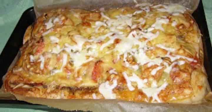 smaczna pizza…