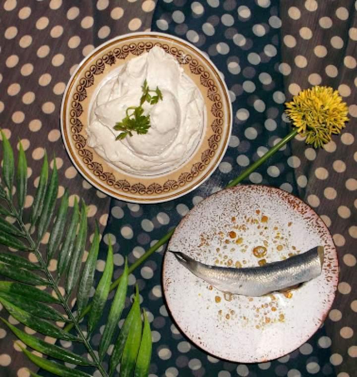 Pasta moskalikowo-twarogowa z pietruszką