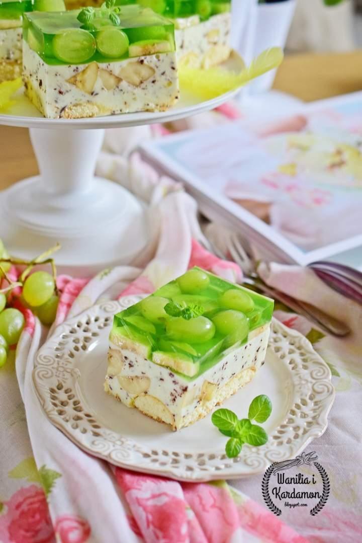 """Ciasto """"Bananowa straciatella"""""""