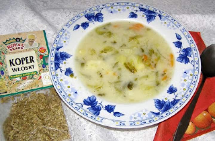 zupa ogórkowa z koprem włoskim…