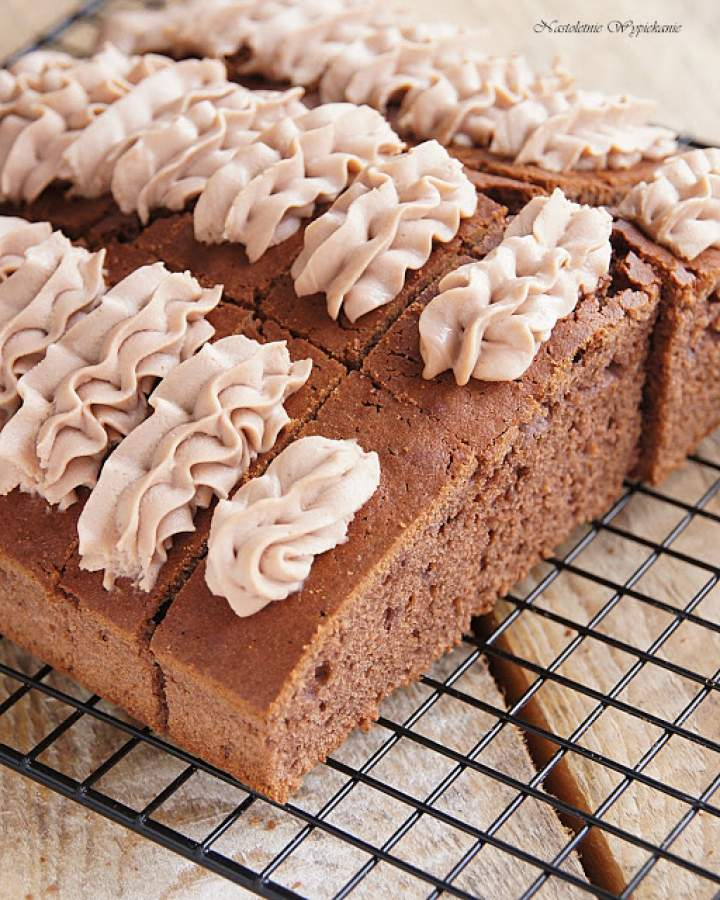 Ciasto czekoladowe z Nutellą