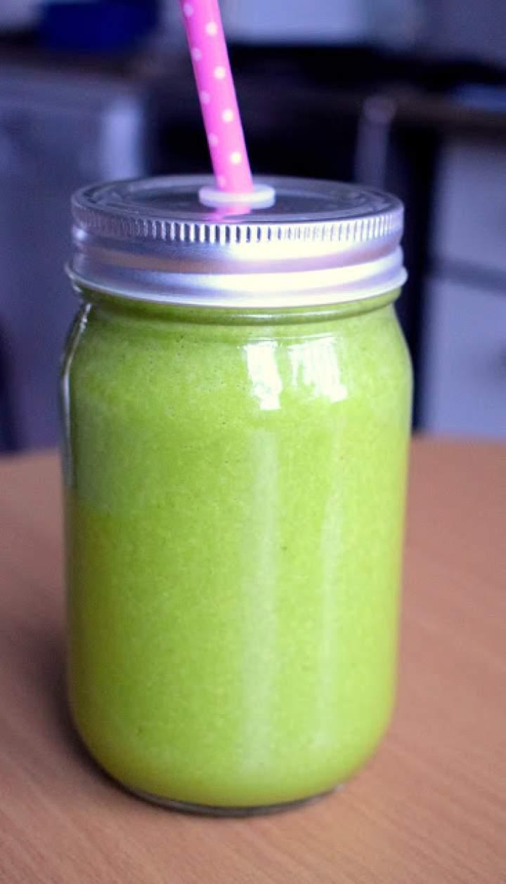 Najpyszniejszy zielony koktajl :)