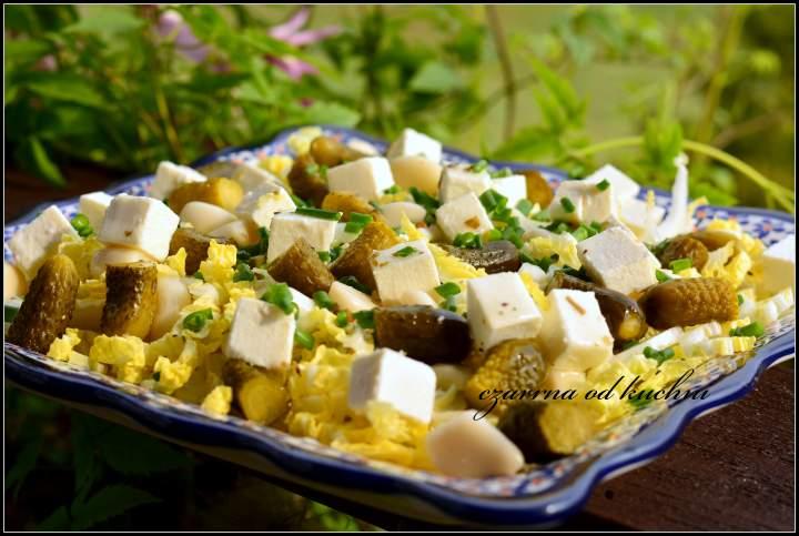 Sałatka grillowa z fetą