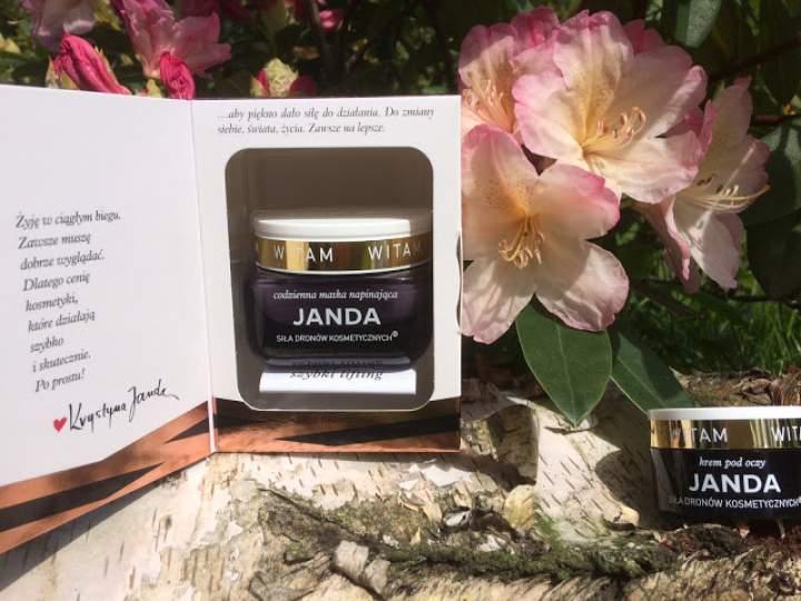 Szybki lifting, siła dronów kosmetycznych – nowości kosmetyczne marki Janda