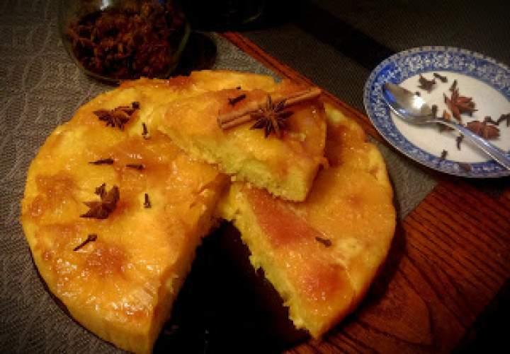 Ciasto pomarańczowo-pomarańczowe
