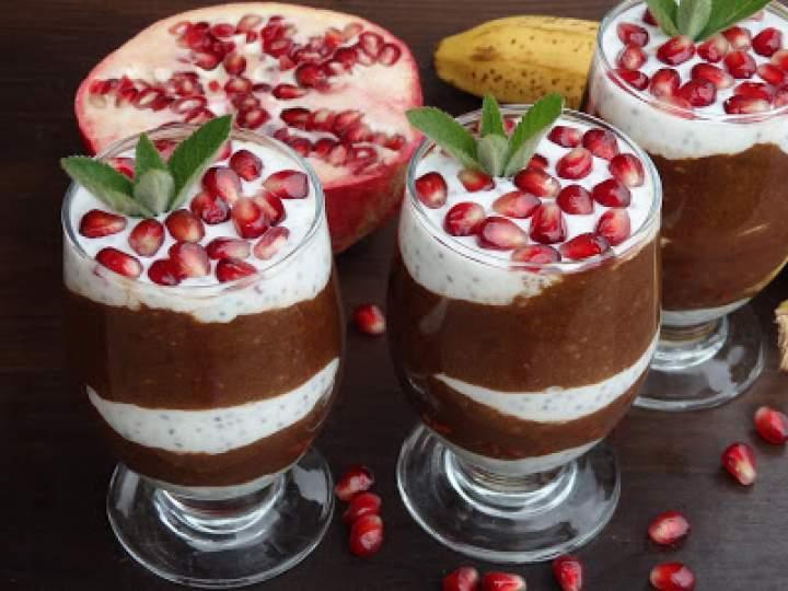 Deser jogurtowo-bananowy z chia