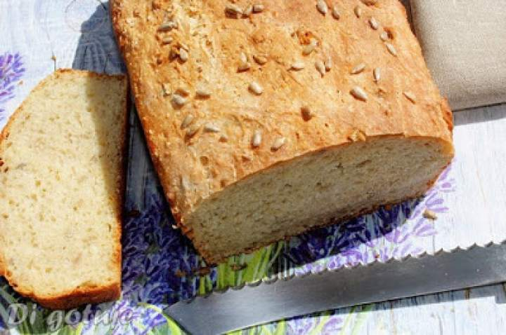 Chleb z octem bez wyrabiania (zawsze się udaje)