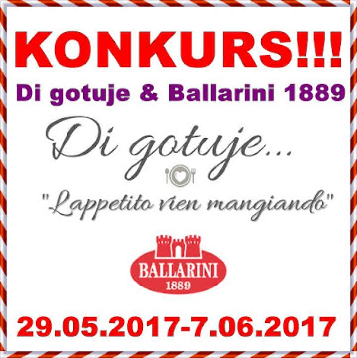 KONKURS – Di gotuje & Ballarini 1889 – do wygrania garnek z pokrywką Zwilling® Passion