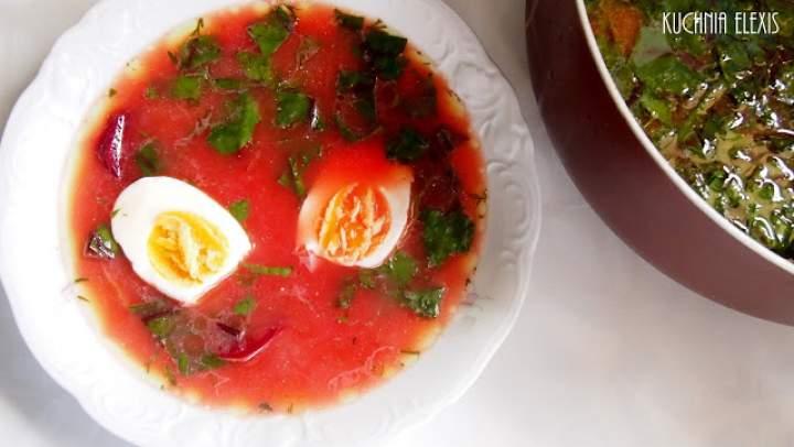 Zupa z botwinki (przepis z filmikiem)
