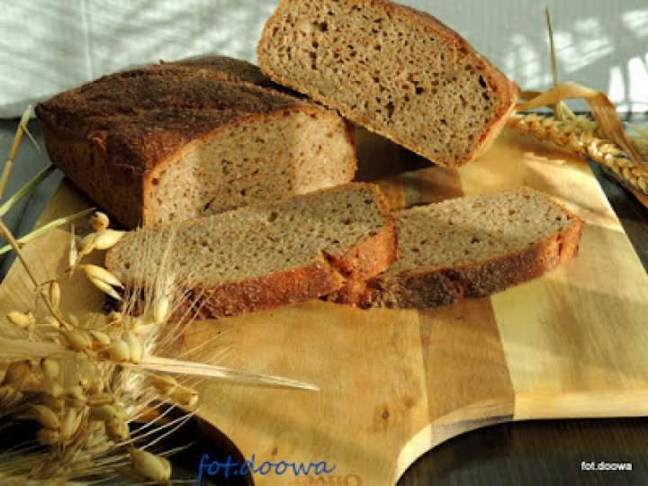 Chleb pszenno – żytni na zakwasie długodojrzewający