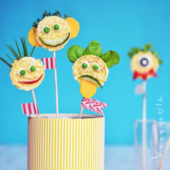 Kreatywne kanapki na dzień dziecka