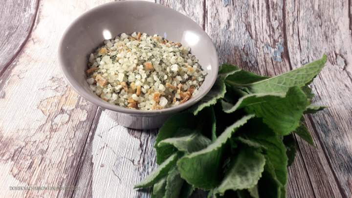 Miętowo – pomarańczowa sól do kapieli
