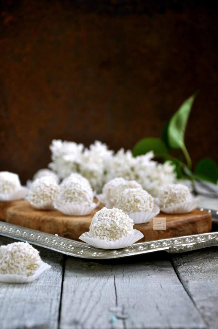 Kulki migdałowo-kokosowe