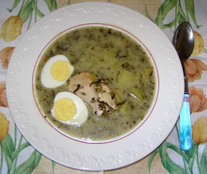 na piersi kurczaka szczawiowa zupa…