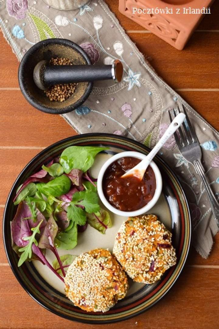 Falafele z ciecierzycy i batatów