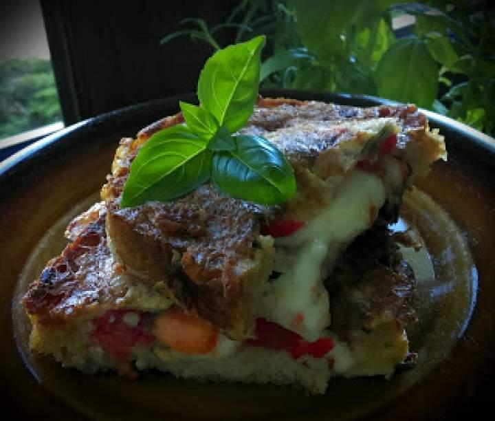 Kanapka na ciepło- smak włoskiej bruschetty… inaczej