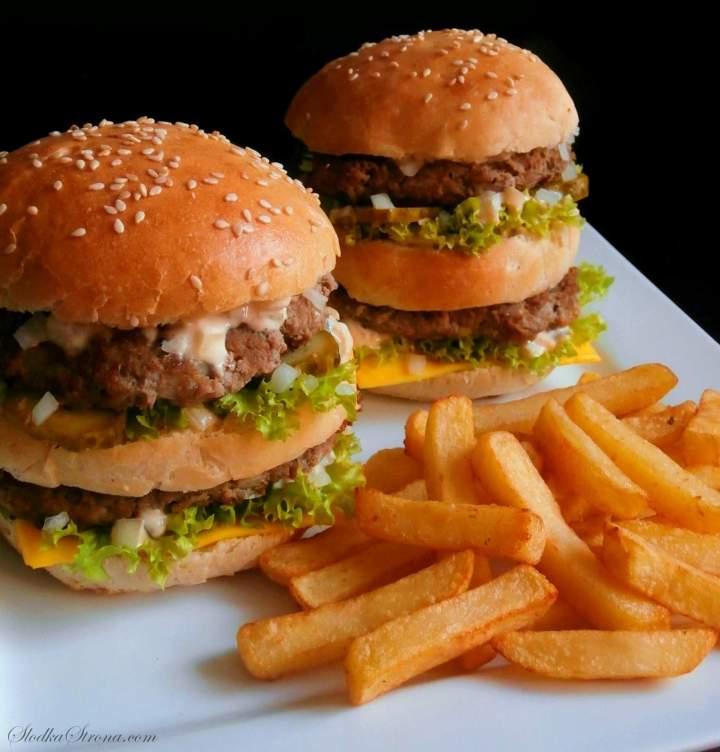 Domowy Big Mac jak z McDonald's