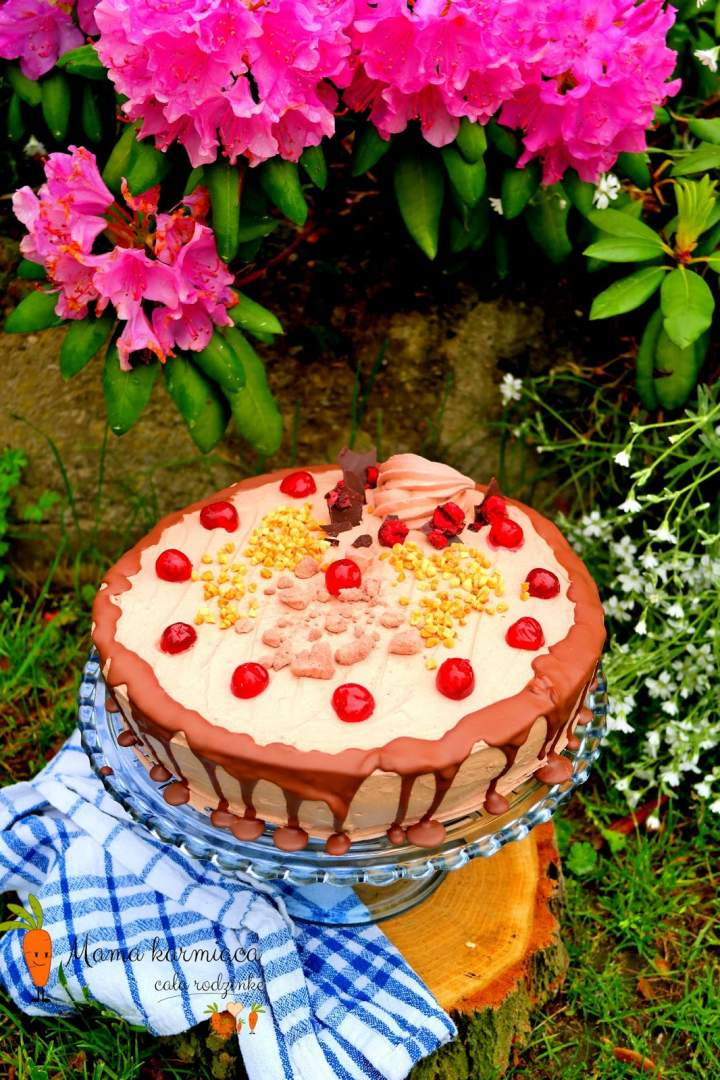 Tort rumowo – czekoladowy
