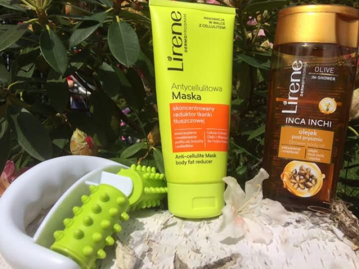 Antycellulitowa maska i masażer ręczny oraz odżywczy olejek pod prysznic – nowości marki Lirene