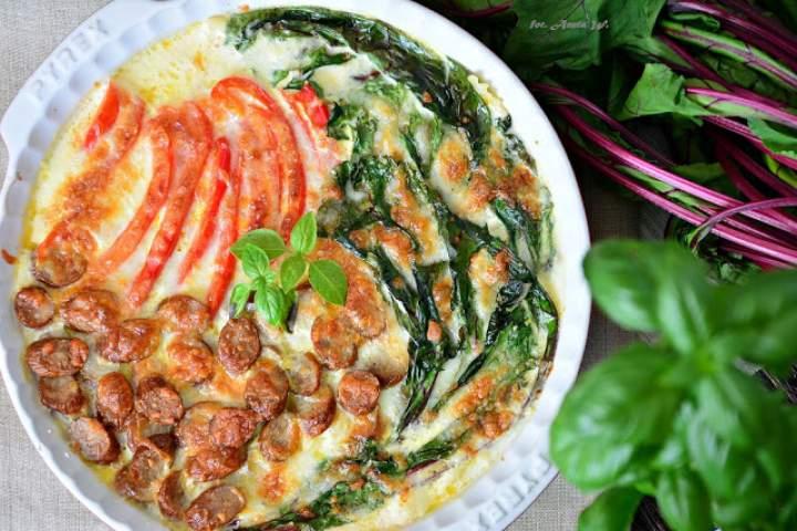 Zupa z piekarnika z makaronem i kabanosem (w 20 minut)