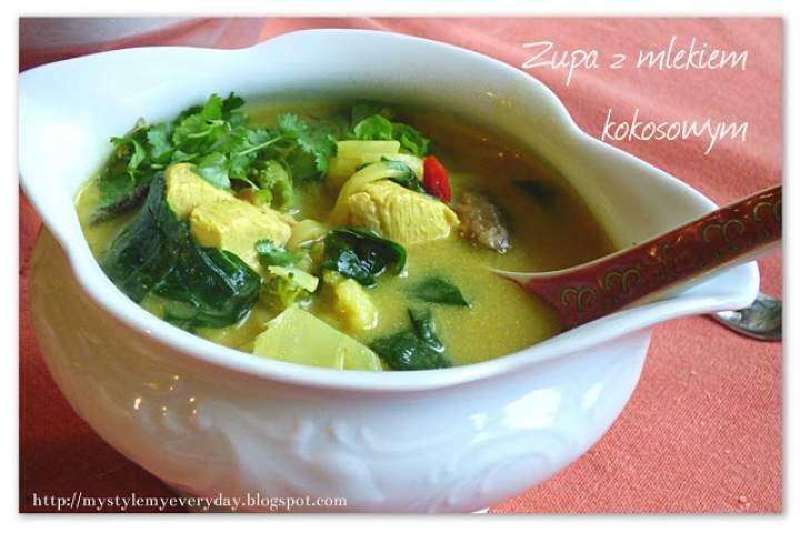 Zupa z mlekiem kokosowym – Coconut milk soup