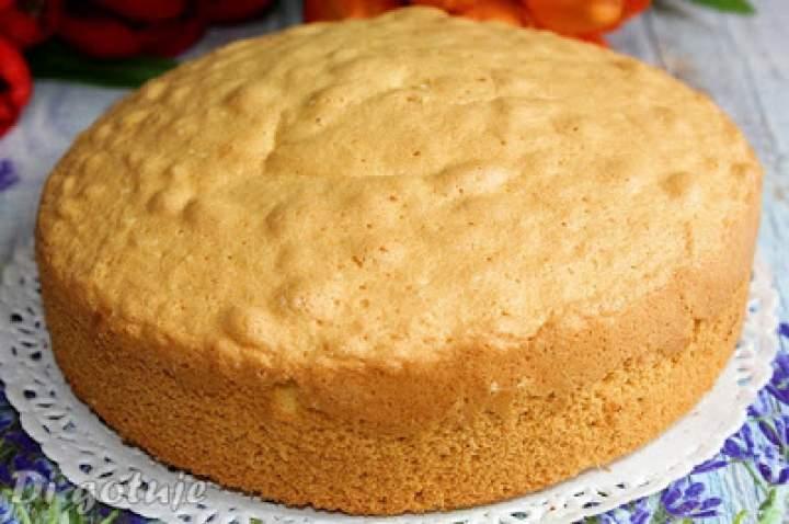Najlepszy biszkopt do ciast i tortów (różne wymiary)