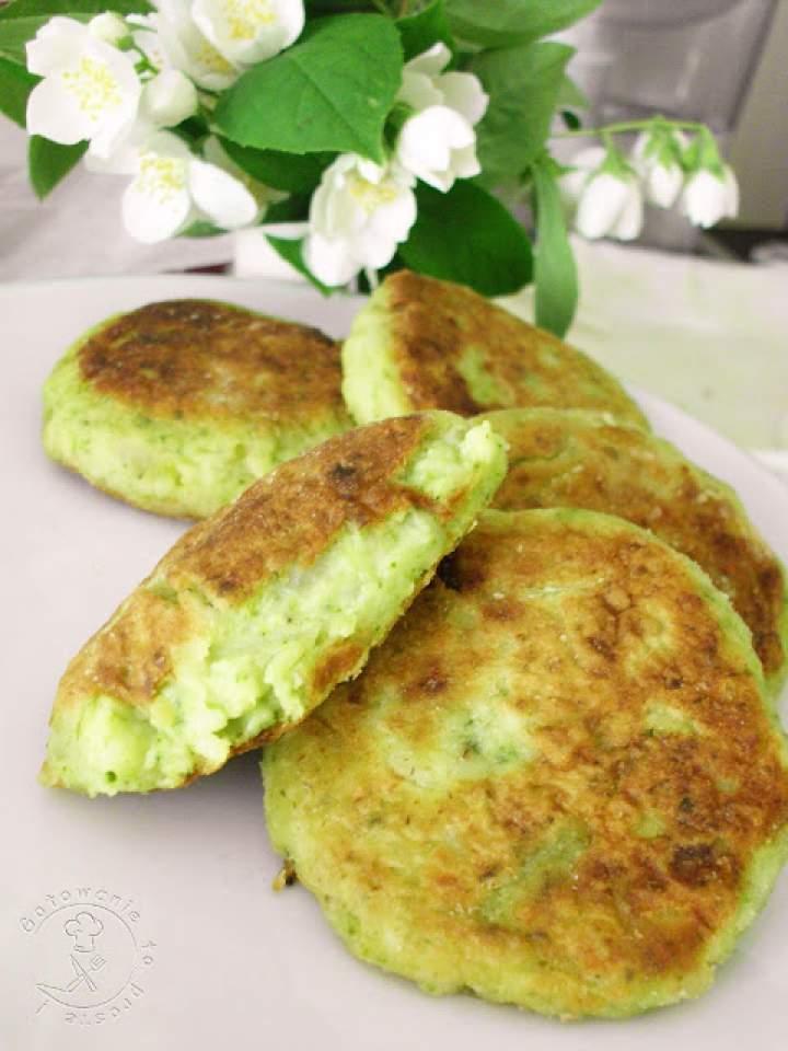 Zielone Kotleciki Z Brokuła I Wczorajszych Ziemniaków