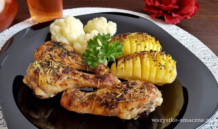 Kurczak i ziemniaki z rusztu