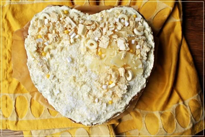 tort anansowo-kokosowy