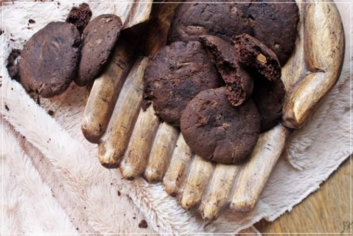 ciastka czekoladowe na maślance