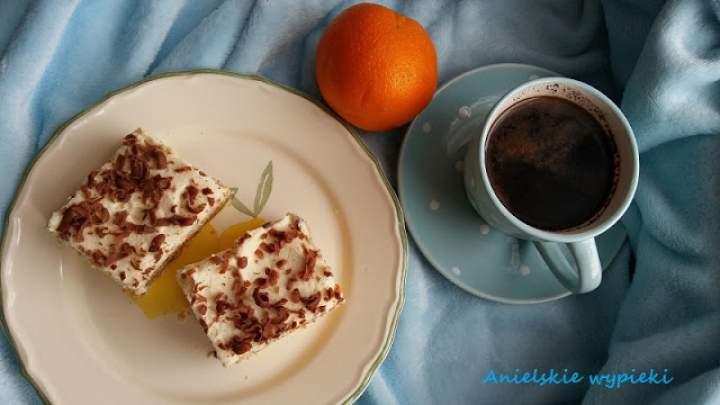 Ciasto z nutą pomarańczy
