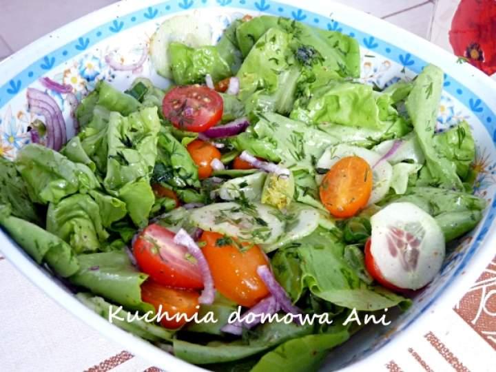 Sałata z warzywami I