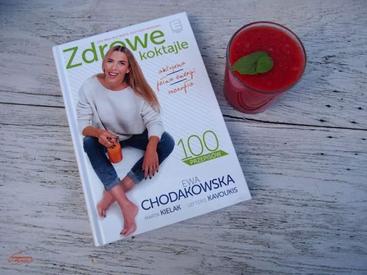 Koktajl arbuzowy i recenzja książki Zdrowe Koktajle