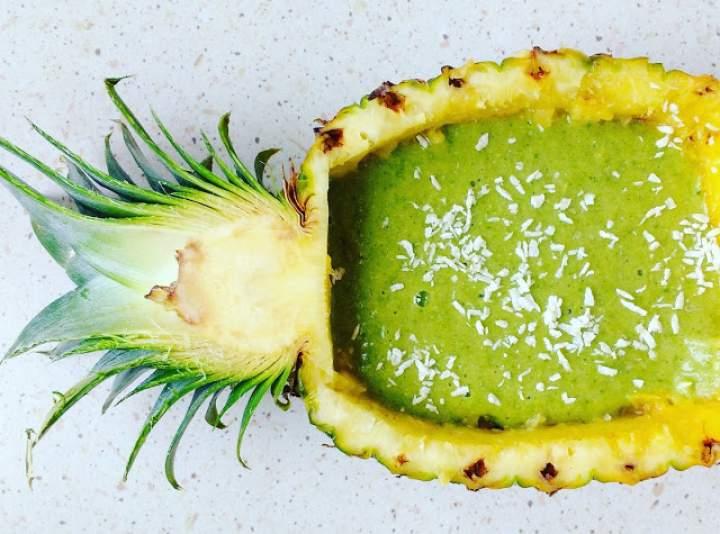 ananas + banan + moringa