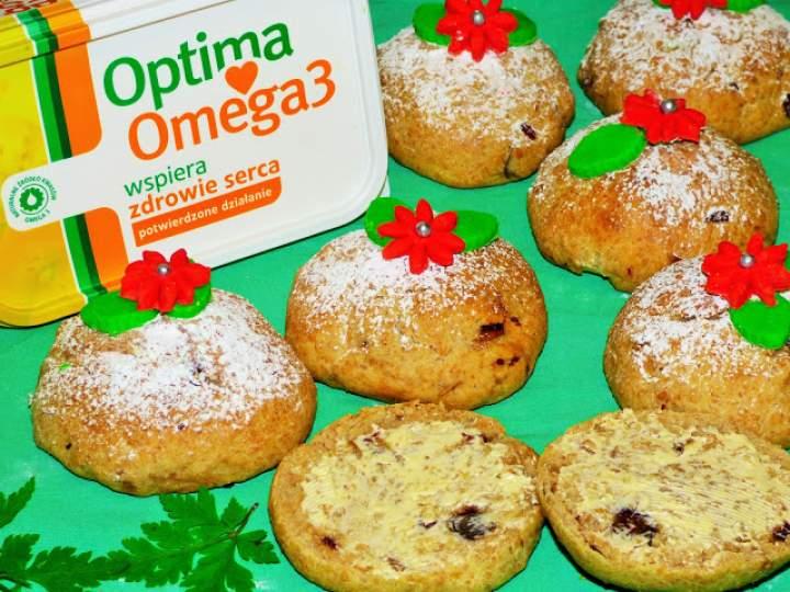 Daktylowe drożdżówki z omega 3