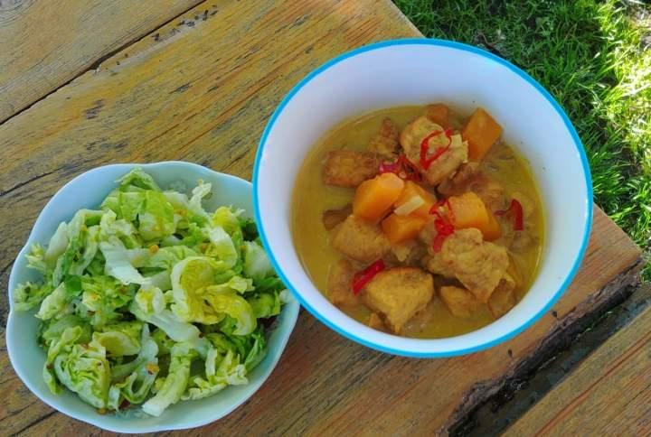 Curry z kurczakiem i dynią