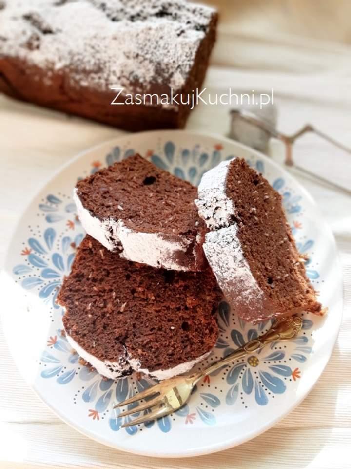 Ciasto kakaowo-kokosowe bez jajek